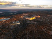 Image: Aerial view of the Norseman Mines and Phoenix Tailings dump